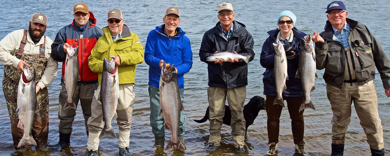 King Salmon Camp on the Nush